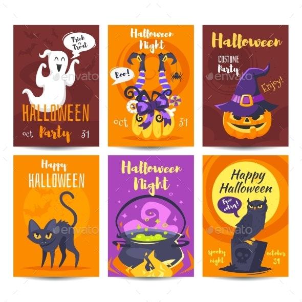 Halloween Poster Design Template - Halloween Seasons/Holidays