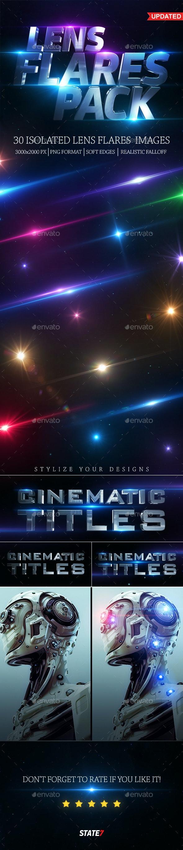 Lens Flares Pack - Decorative Graphics