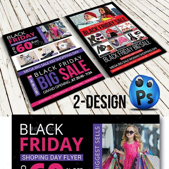 Black Friday Flyer Templates
