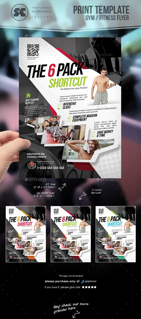 Fitness / Gym Flyer - Sports Events