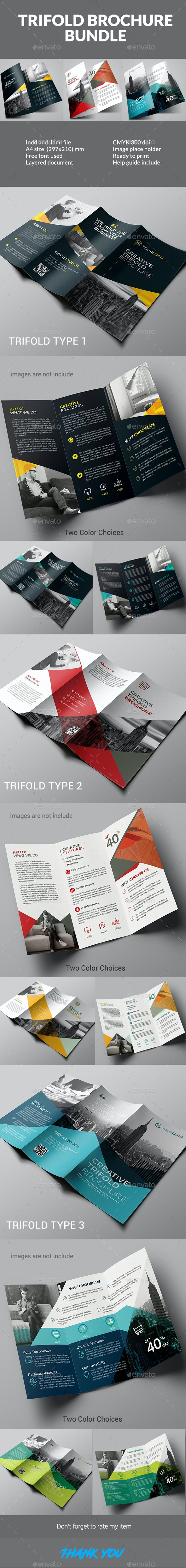 Trifold Bundle - Corporate Brochures