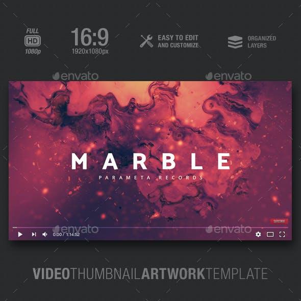 Marble - Music Video Thumbnail Artwork