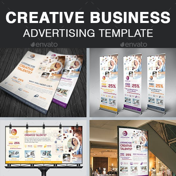 Creative Business Advertising Template