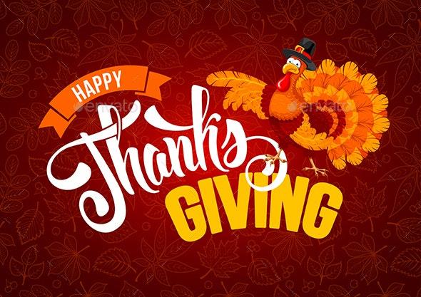 Thanksgiving Greeting - Miscellaneous Seasons/Holidays