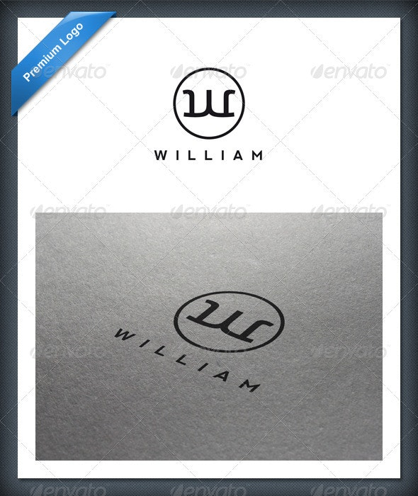 Letter W Logo Template - Letters Logo Templates
