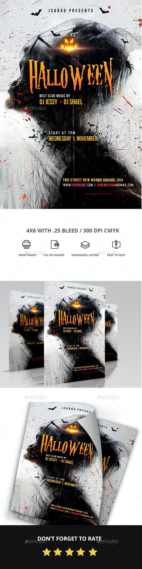 Halloween - Events Flyers