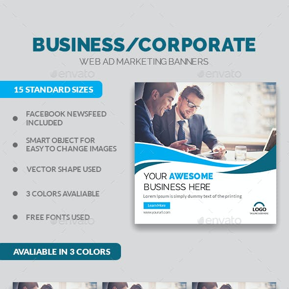 Multipurpose Corporate Business Banners