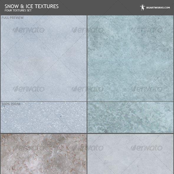 Snow Textures Set