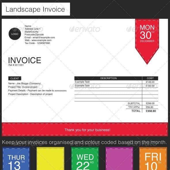Label Style Invoice