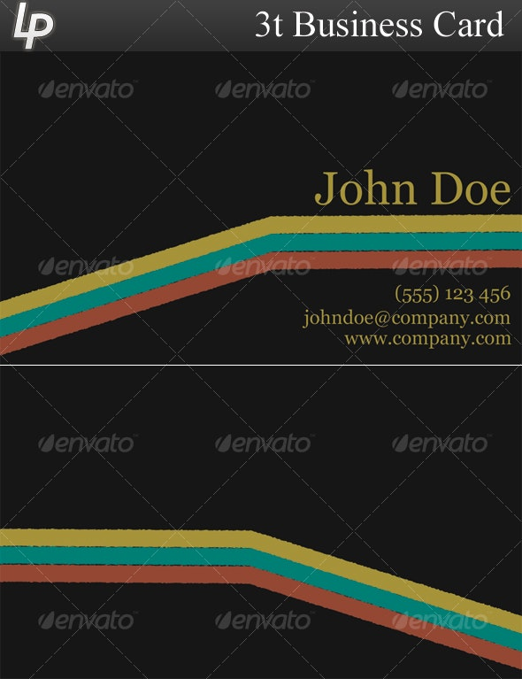 3T Business Card - Creative Business Cards