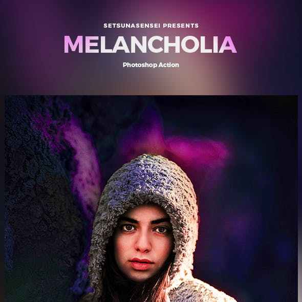 Melancholia Photoshop Action