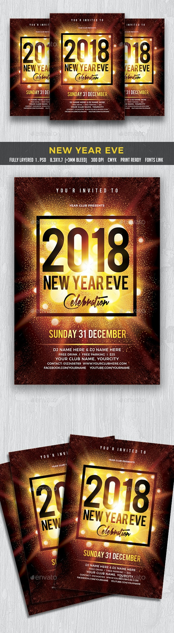 New Year Eve - Clubs & Parties Events