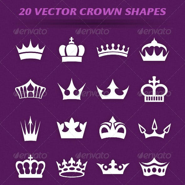 20 Crown Shapes