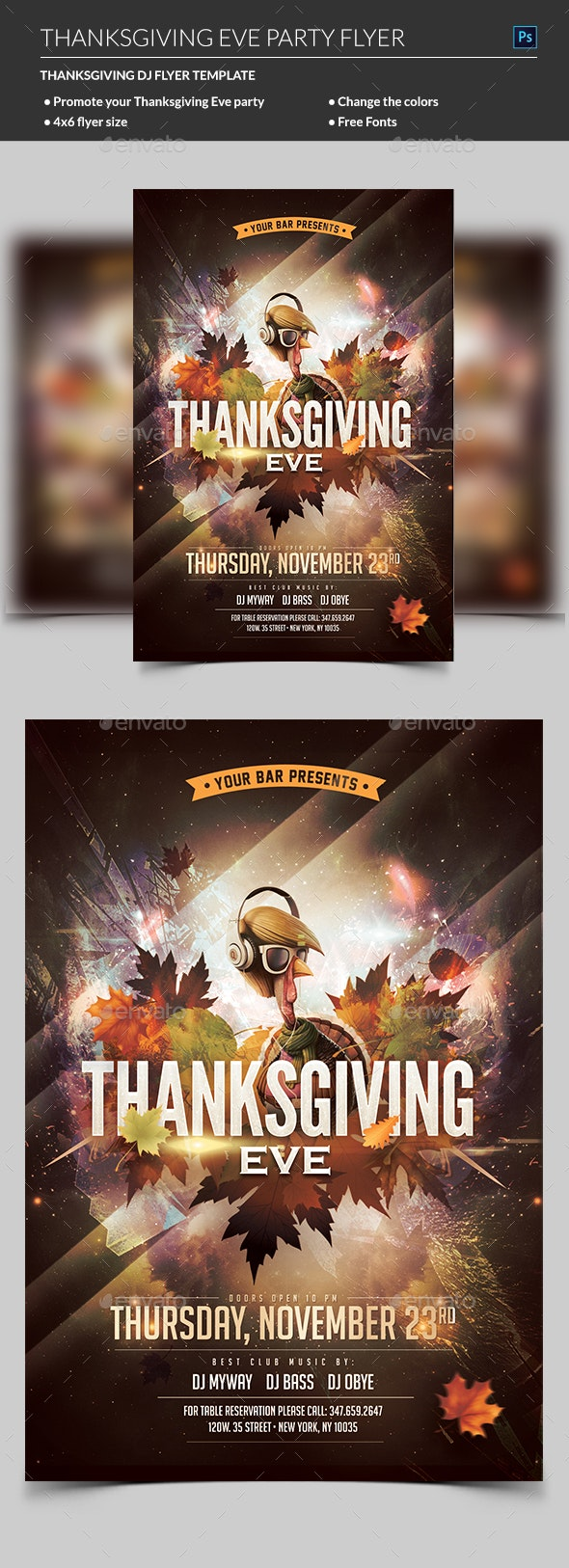 8 Best Flyer Templates  for November 2019