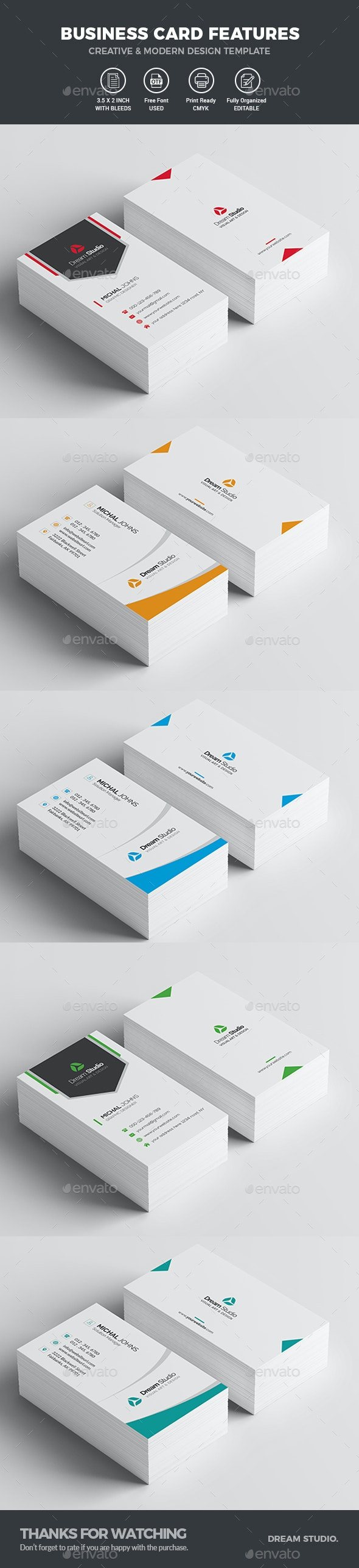 Business Cards Bundle - Business Cards Print Templates