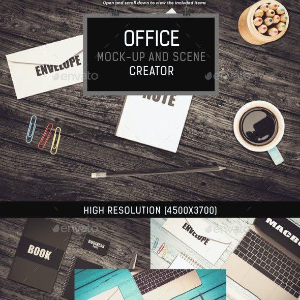 Office Mock-up and Scene Creator