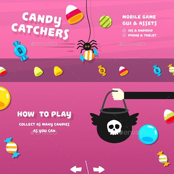 Candy Catchers Full Arcade Game Kit