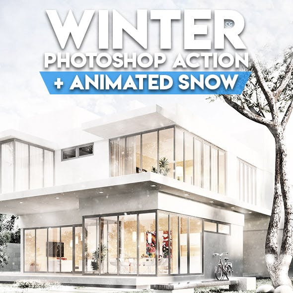 Winter Photoshop Action