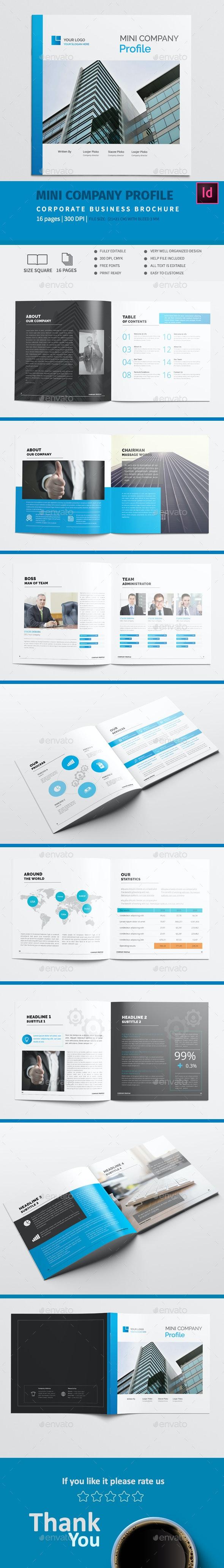 Mini Square Company Profile - Corporate Brochures