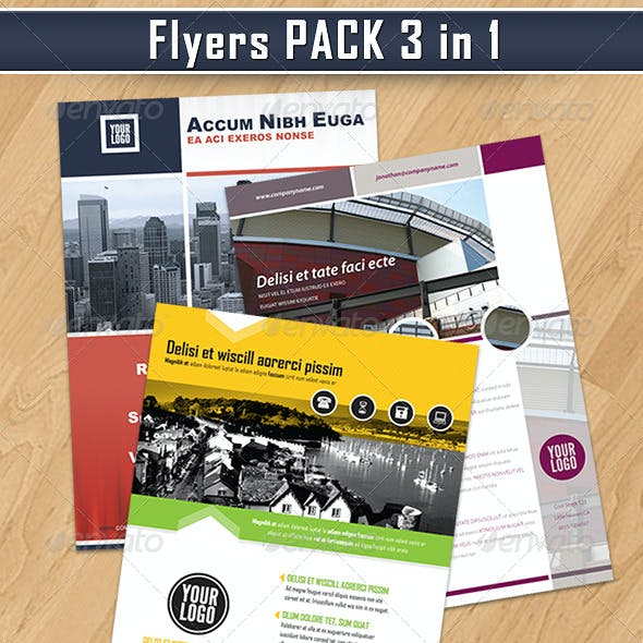 Flyers Pack 3 in 1