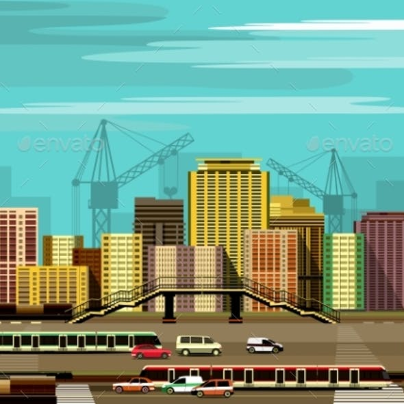 City Buildings and Freeway
