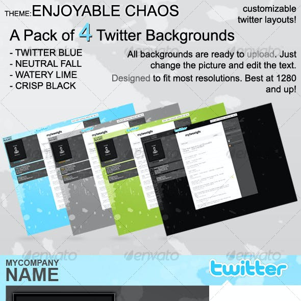 4 Customizable Twitter Layouts