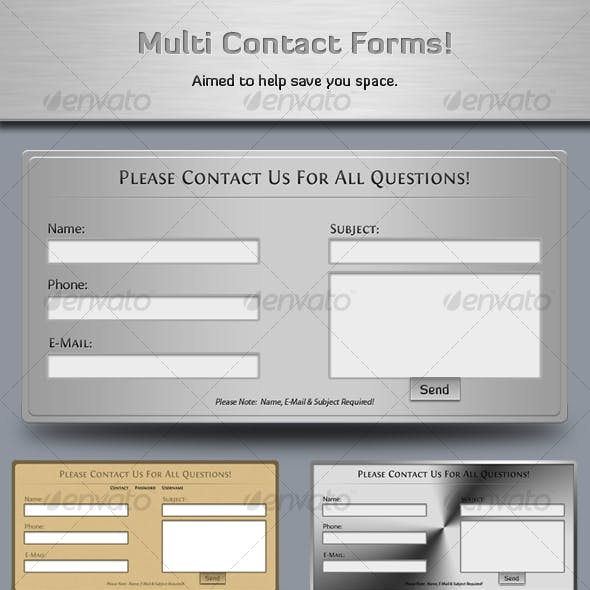 Multi Contact Forms