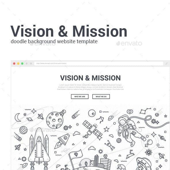 Vision & Mission Doodle Concept