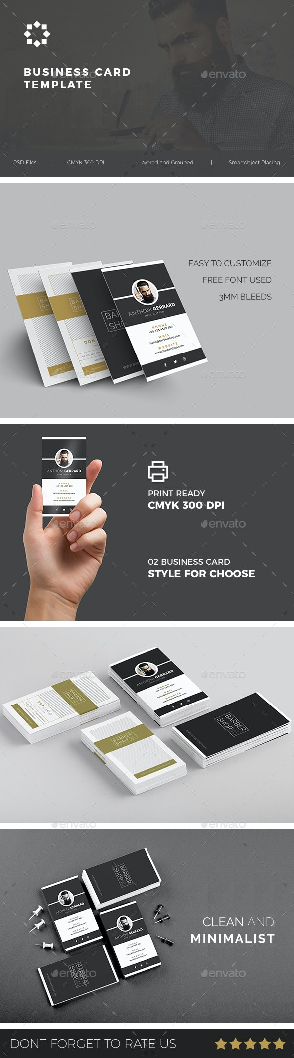 Business Card Vol. 01 - Business Cards Print Templates