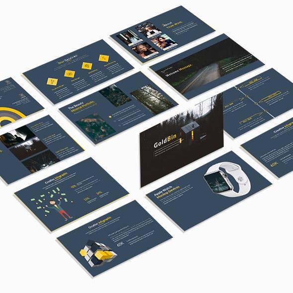 Goldbin Multipurpose Keynote Template