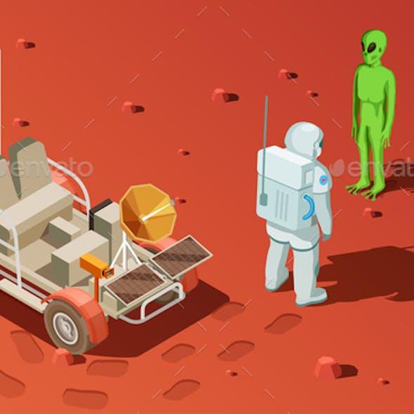 Meeting an Alien Composition