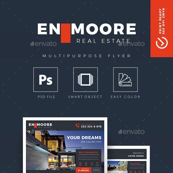 EM - Creative Real Estate Flyer