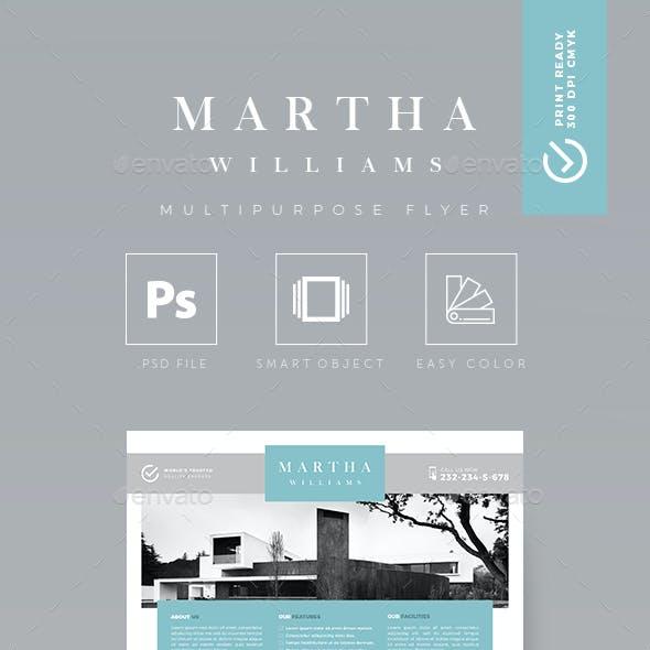 Minimalist - Creative Real Estate Flyer