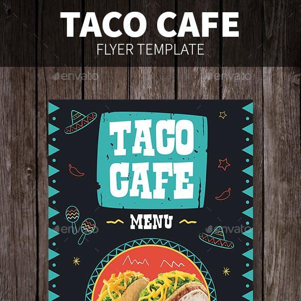Taco Cafe Flyer
