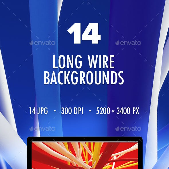 14 Long Wire Backgrounds