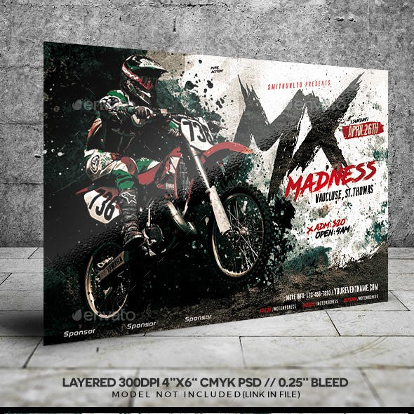 Motocross Madness Event Flyer