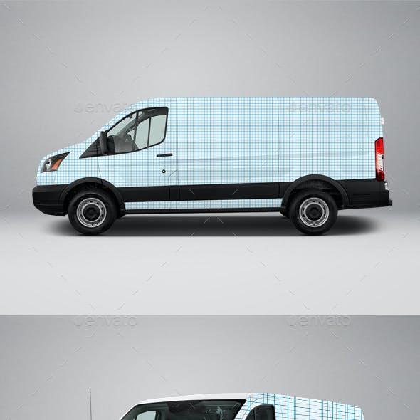 2017 Transit 150 Low Roof Cargo Van