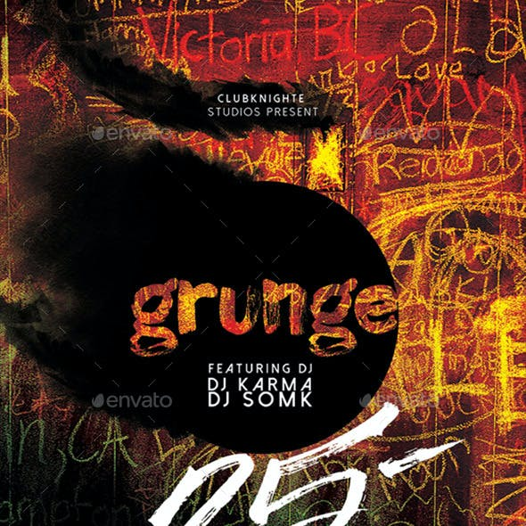 Grunge Party Poster / Flyer