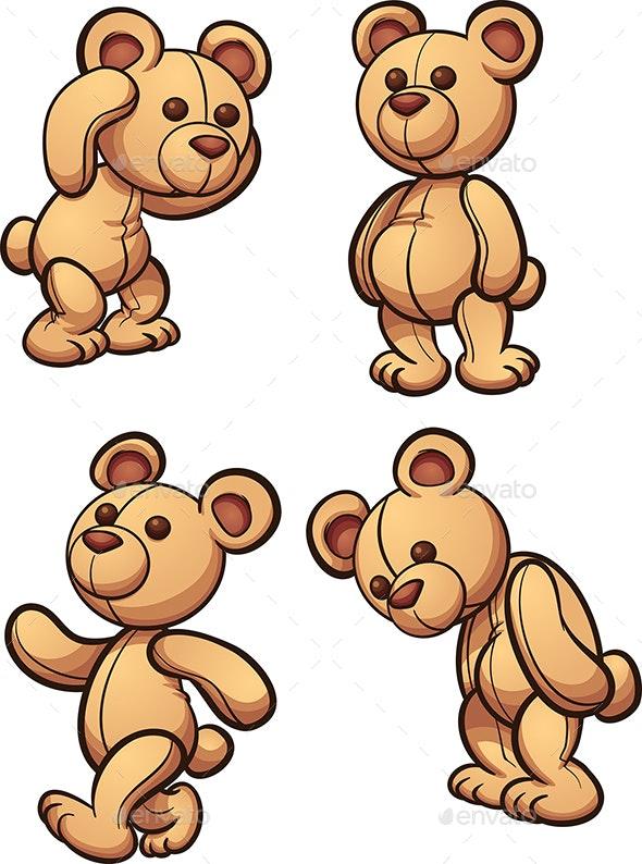 Teddy Bear - Man-made Objects Objects