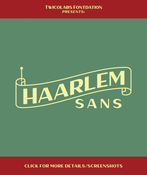 Haarlem Sans