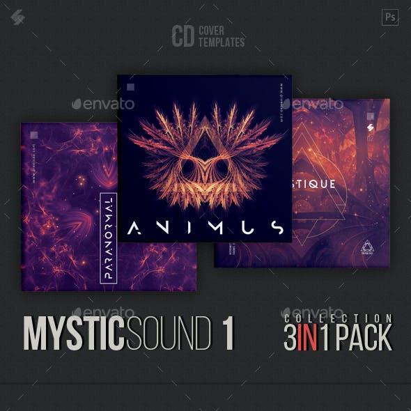 Mystic Sound Collection - CD Cover Artwork Templates Bundle