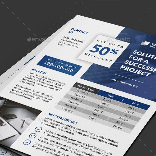Multipurpose Flyer Price Designs