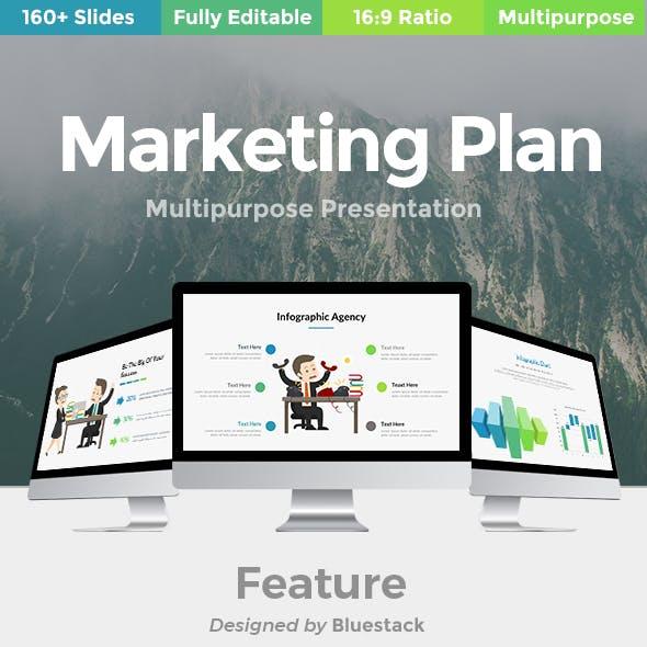 Marketing Plan Multipurpose Google Slide Template