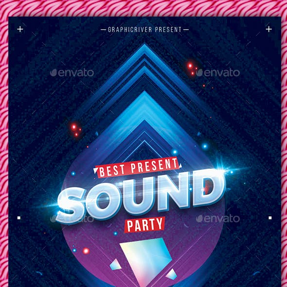 Sound Party Flyer