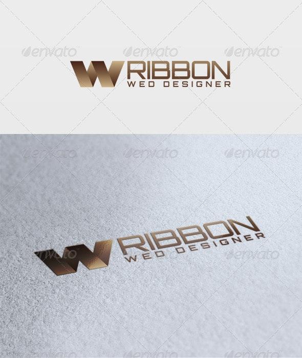 Ribbon Logo - Letters Logo Templates