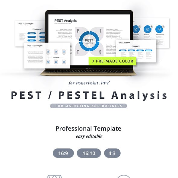 Pest, Pestel, Pestle Analysis PowerPoint Template
