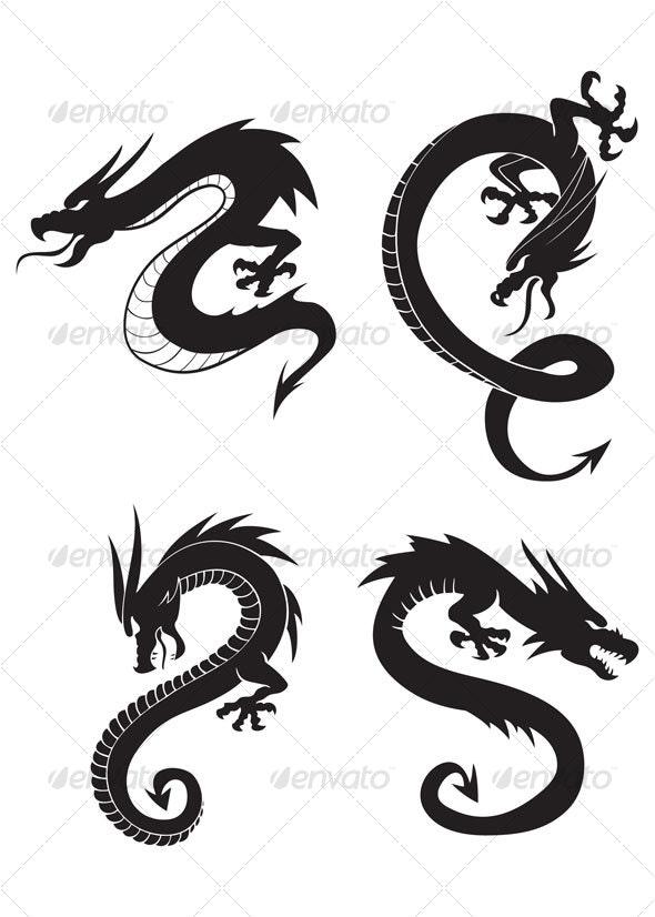 Dragons - Animals Characters
