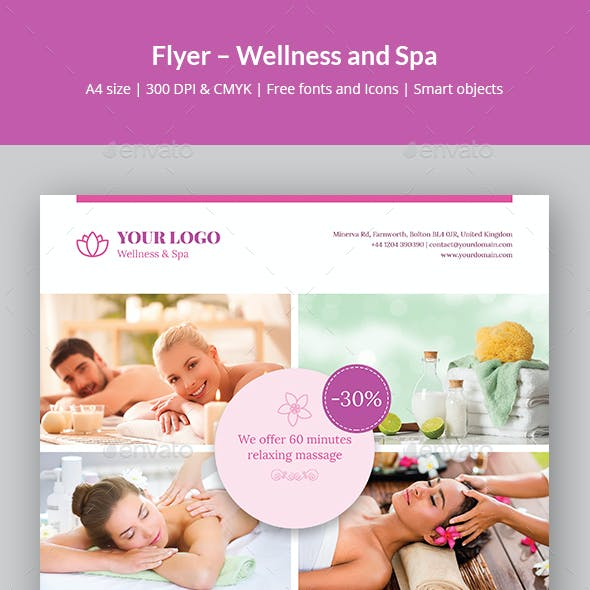 Flyer – Wellness and Spa