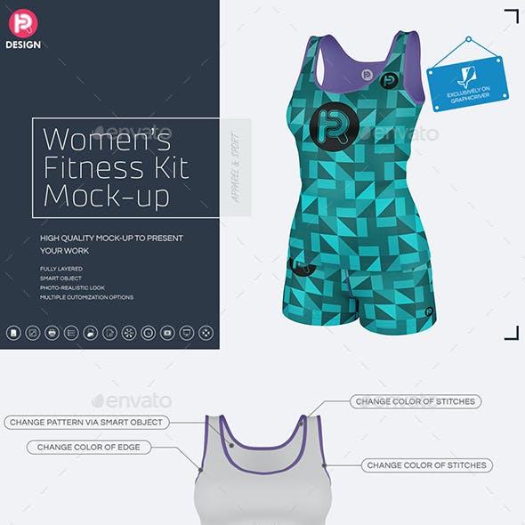 Women's Fitness Kit Mock-Up v3