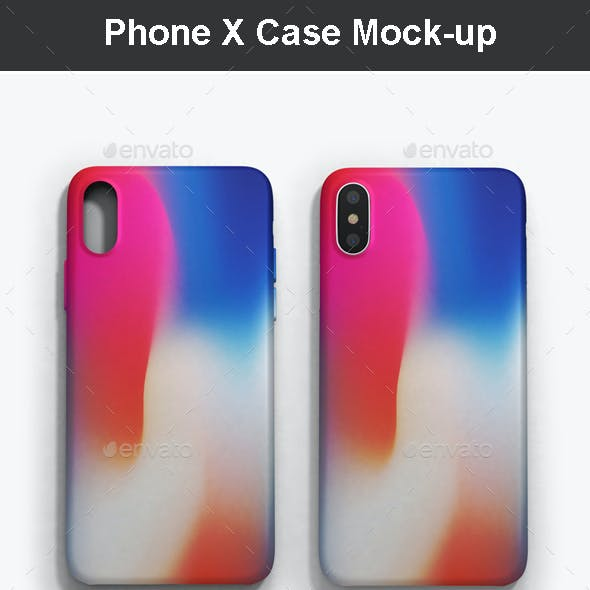 Phone X Case Mock-up